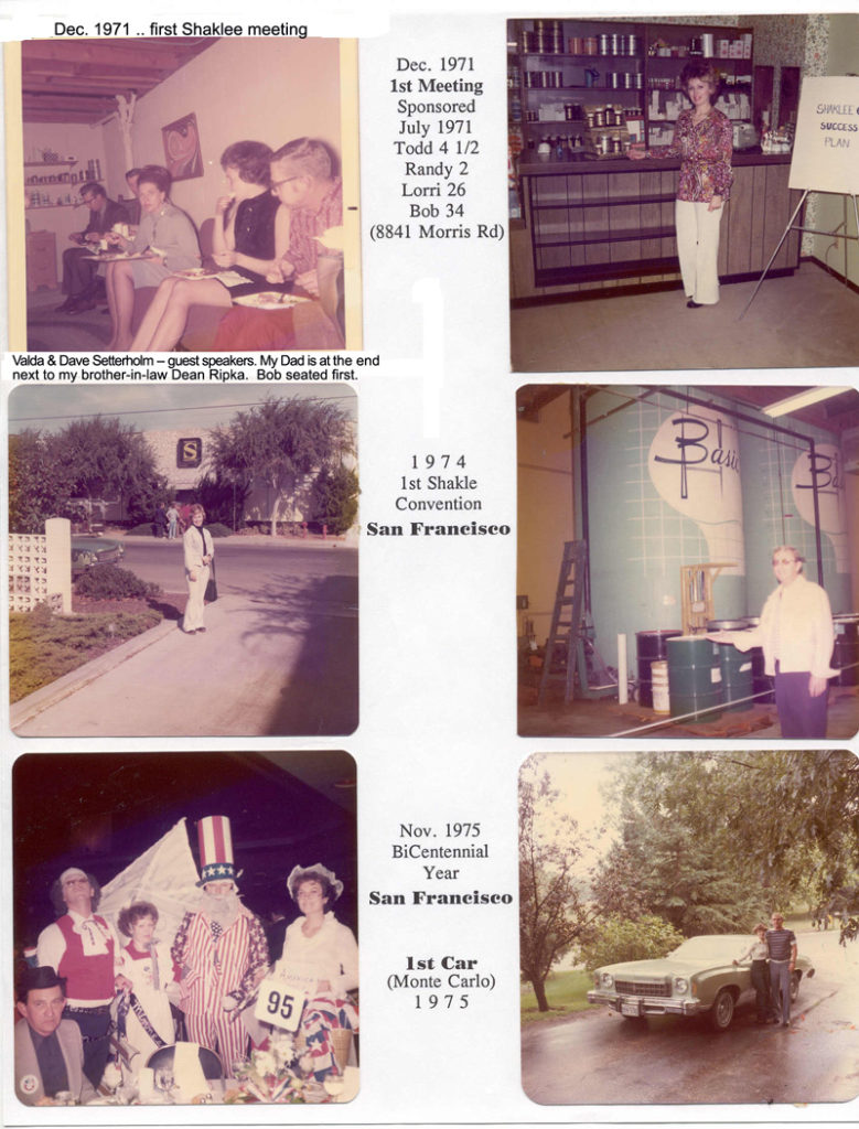 1971-1975 Shaklee Beginnings